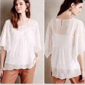 Meadow Rue Anthropologie Carwen blouse